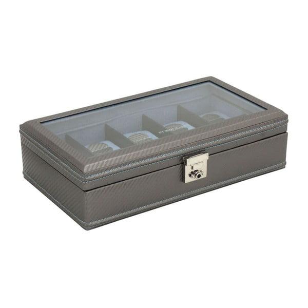 Box na hodinky Carbon 10 Grey