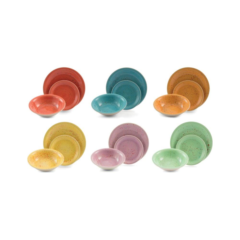 18dílná sada barevného nádobí Villa d'Este Spray