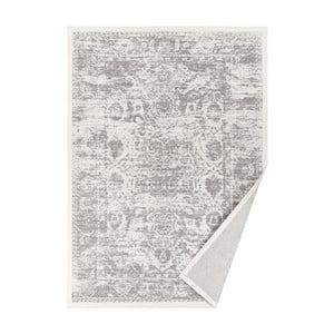 Covor reversibil Narma Palmse, 70 x 140 cm, alb