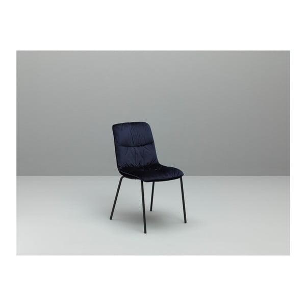 Sada 4 modrých jídelních židlí Design Twist Cerlak