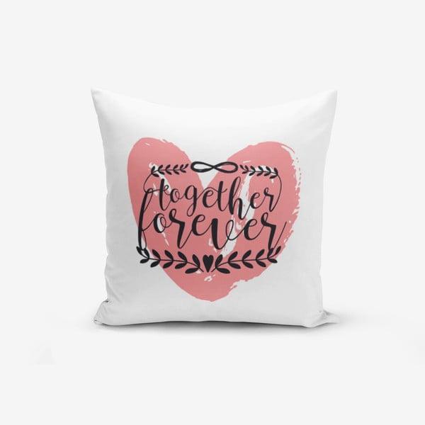 Poszewka na poduszkę z domieszką bawełny Minimalist Cushion Covers Special Pink, 45x45 cm