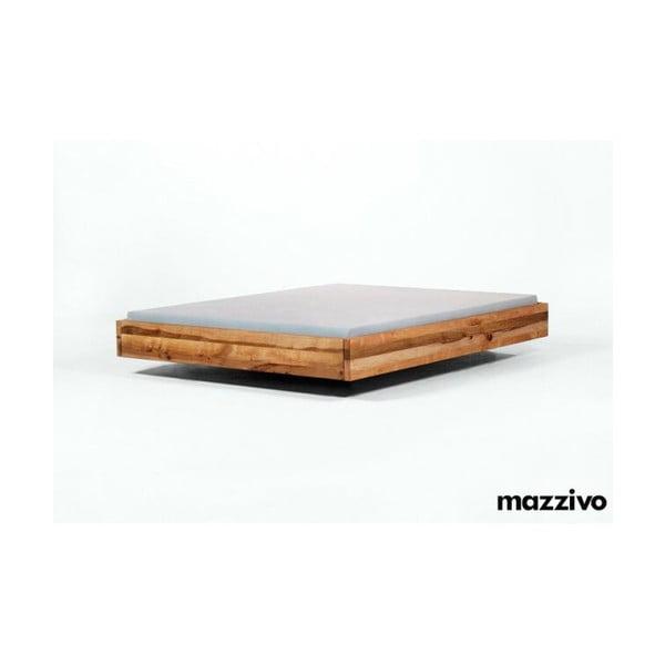 Postel Pool z olšového dřeva, 140x200 cm, natural
