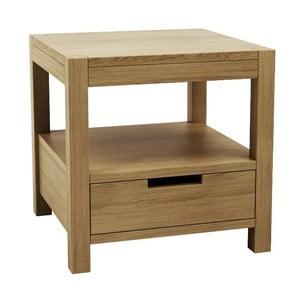 Noční stolek z dubového dřeva Fornestas Sims