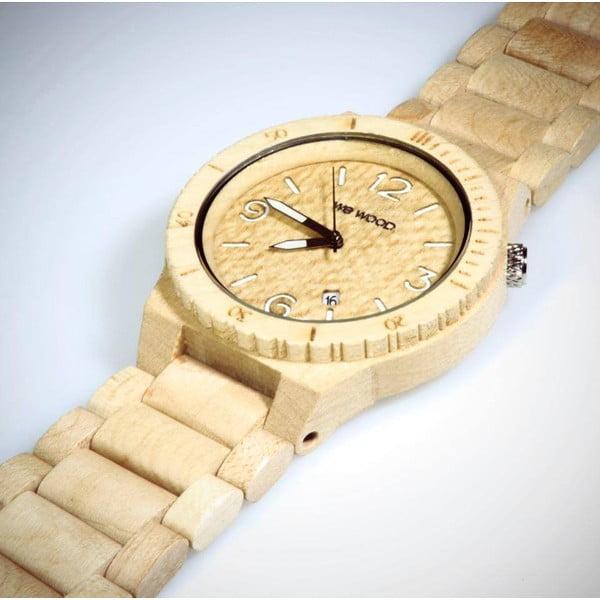 Dřevěné hodinky Alpha Beige