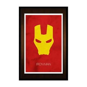 Plakát Iron Man Mask, 35x30 cm