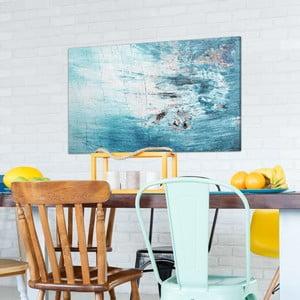 Obraz na plátně OrangeWallz Abstract Pale Blue, 70 x 118 cm