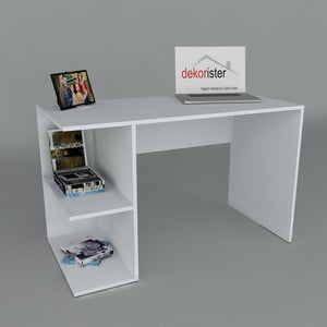 Pracovní stůl Elegance White, 60x120x75 cm