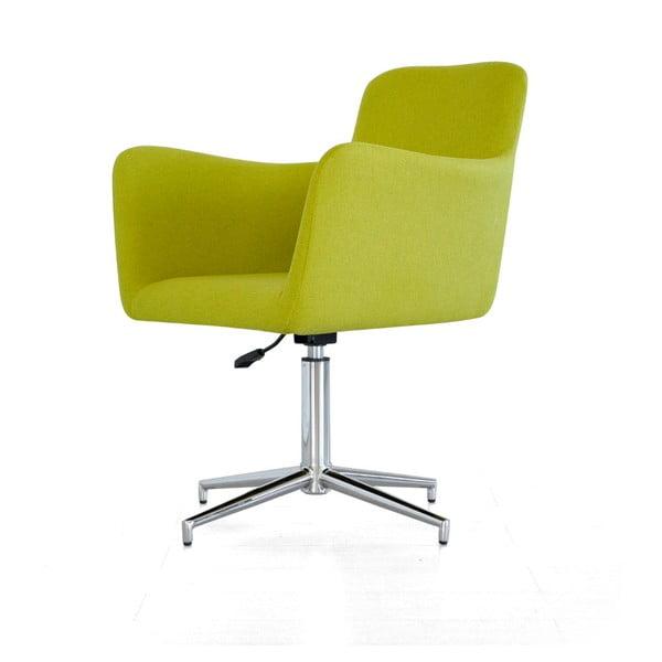 Posuvná židle Pan, zelená