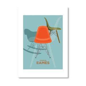 Autorský plakát Charles Eames