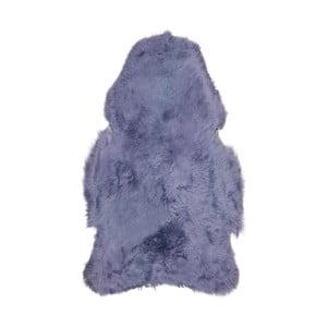 Fialová ovčí kožešina s krátkým chlupem Arctic Fur Chesto, 90x50cm