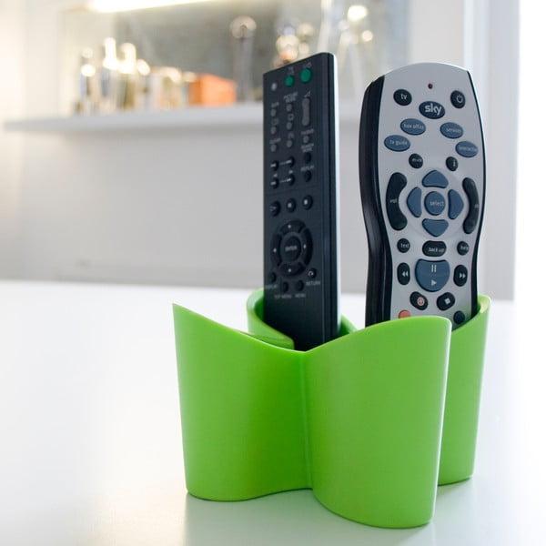 Zelený stojánek na dálkové ovladače J-Me Cozy Remote Tidy