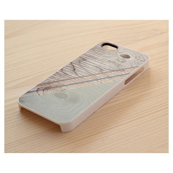 Obal na iPhone 4/4S, Pastel Rustic Geometric wook/white