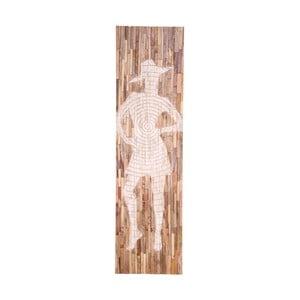 Decorațiune pentru perete din lemn de mango House Nordic Jali