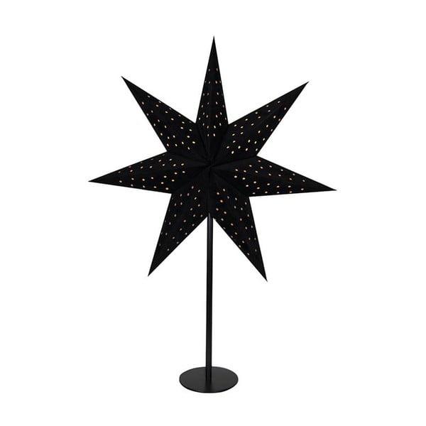 Czarna dekoracja świetlna Markslöjd Clara, wys. 65 cm