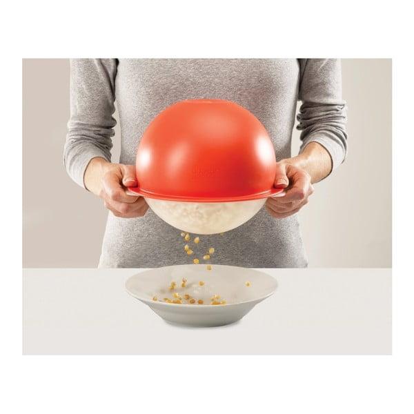 Castron pentru popcorn  Joseph Joseph M-Cuisine Popcorn Maker, roșu