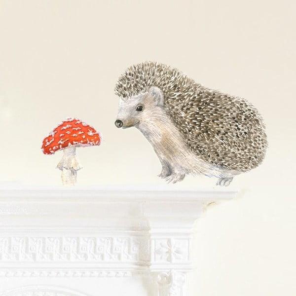 Znovu snímatelná samolepka Hedgehog Mini