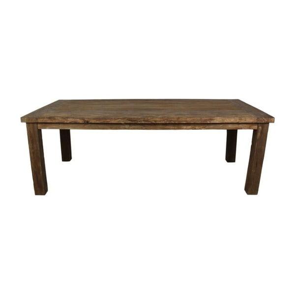 Jídelní stůl z teakového dřeva HSM collection Napoli, 200 x 100 cm