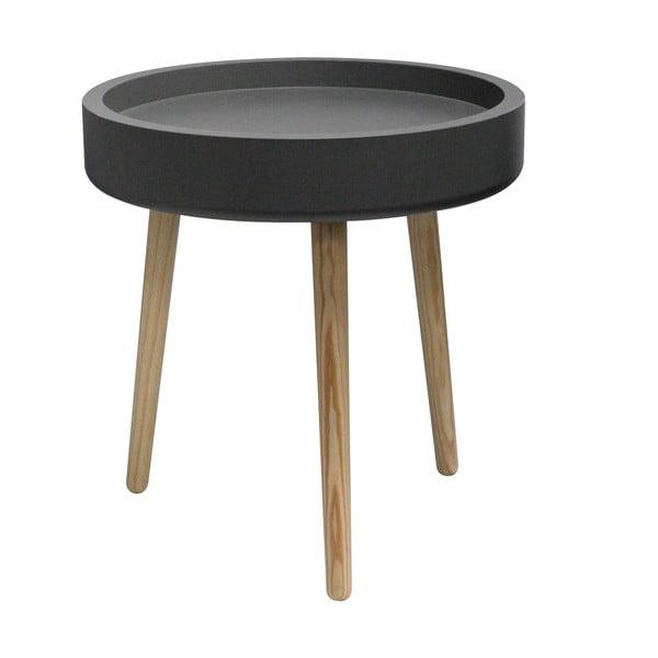 Odkládací stolek Pod, černý