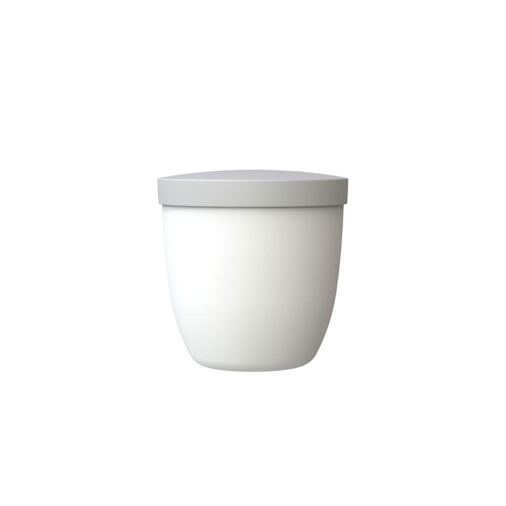 Bílá svačinová dóza Rosti Mepal Ellipse, 500 ml