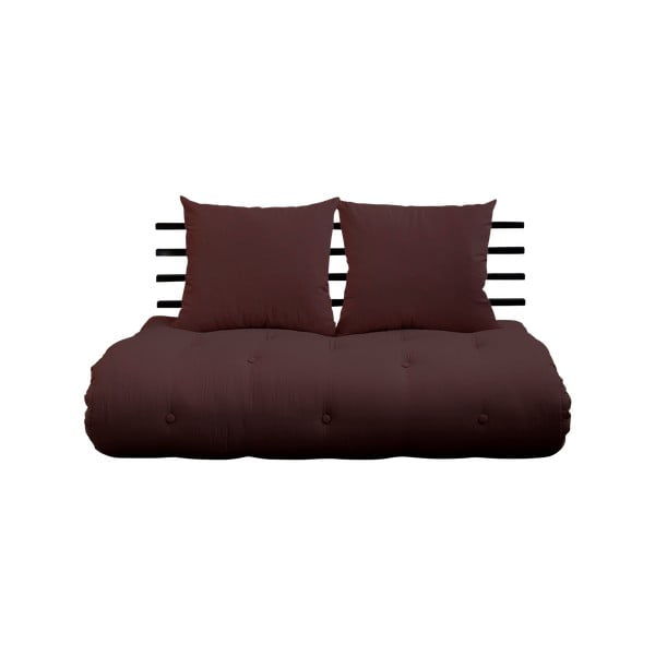 Shin Sano Black/Brown kinyitható kanapé - Karup Design