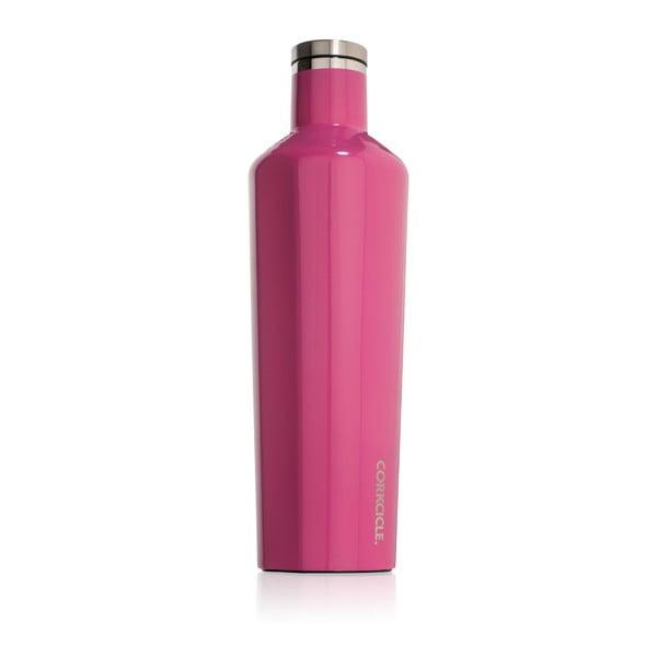 Růžová cestovní termolahev Corkcicle Canteen, 740 ml