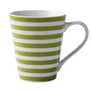 Porcelánový hrnek Lime Striped
