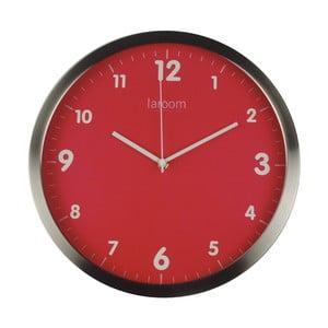 Nástěnné hodiny MInimal Red