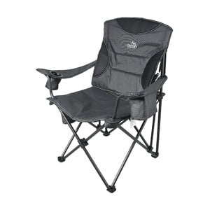 Šedá skládací kempingová židle Cattara Merite