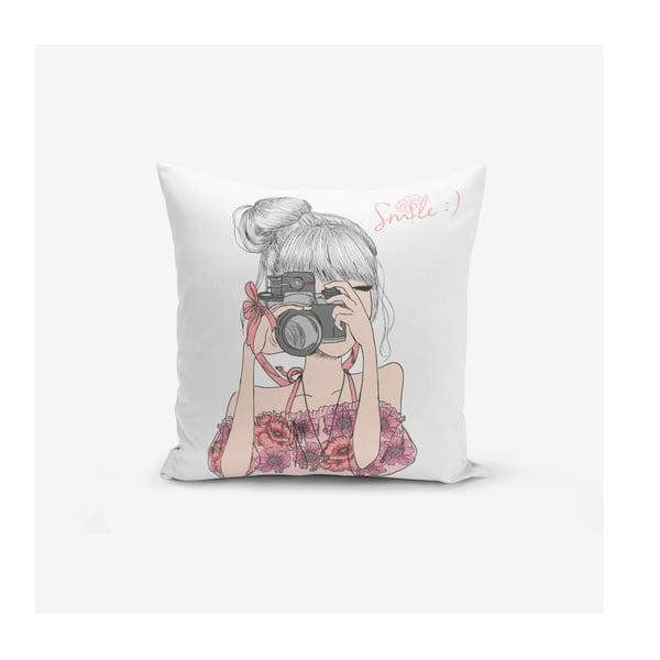 Față de pernă Minimalist Cushion Covers Bundia, 45 x 45 cm