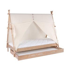 Zásuvka z borovicového dřeva pro dětskou postel BLN Kids Apache