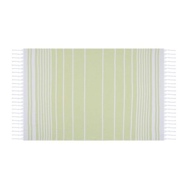 Hammam Olive zöld fürdőlepedő, 100 x 170 cm