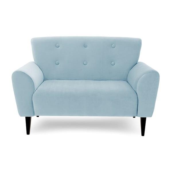 Canapea cu 2 locuri Vivonita Kiara, albastru deschis