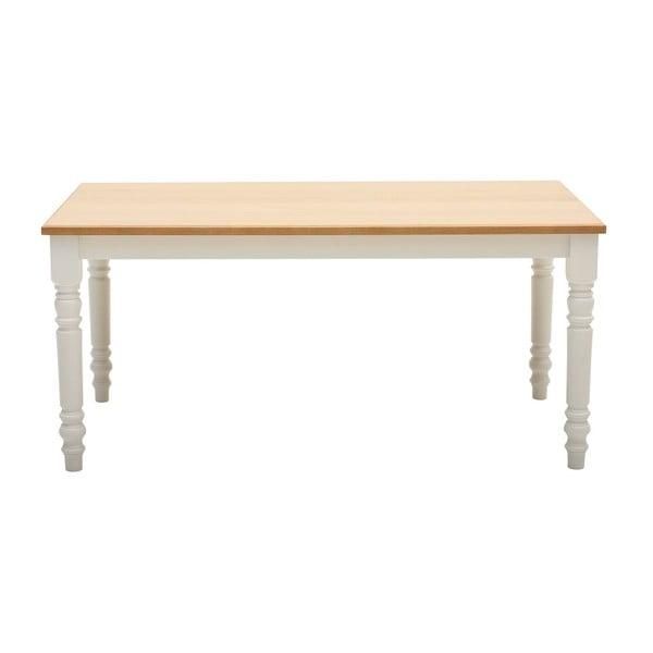 Jedálenský stôl z dubovej dyhy Artemob Cristina, dĺžka 200 cm