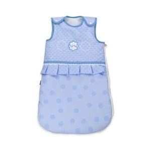 Dětský modrý spací pytel Naf Naf Tres Chic, délka70cm
