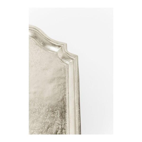 Odkládací stolek ve stříbrné barvě Kare Design Endris