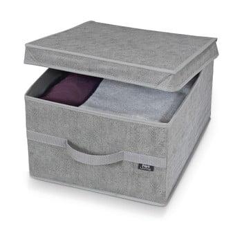Cutie pentru depozitare Domopak Stone Large, 50x38cm, gri de la Domopak