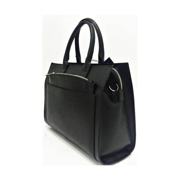 Kožená kabelka Goa Black