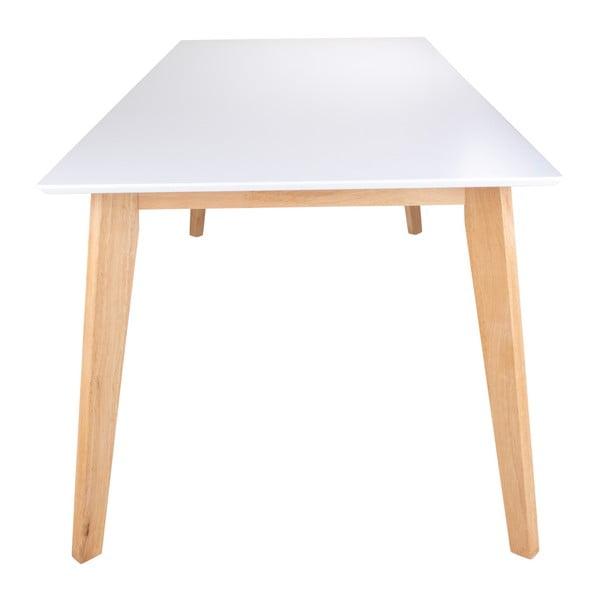 Jídelní stůl s přírodními nožičkami loomi.design Vojens, 210x90cm
