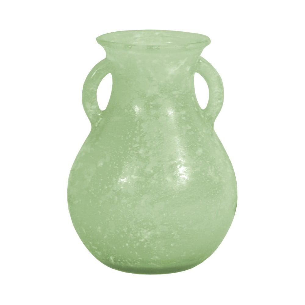 Zelená váza z recyklovaného skla Ego Dekor Cantaro, 0,75 l