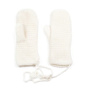 Bílé rukavice Ava