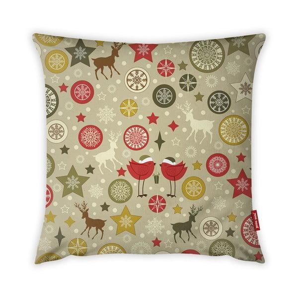 Poszewka na poduszkę Vitaus Christmas Period Cute Pattern, 43x43 cm