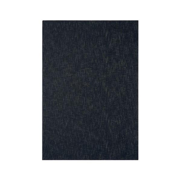 Vlněný koberec Tweed Charcoal, 120x180 cm