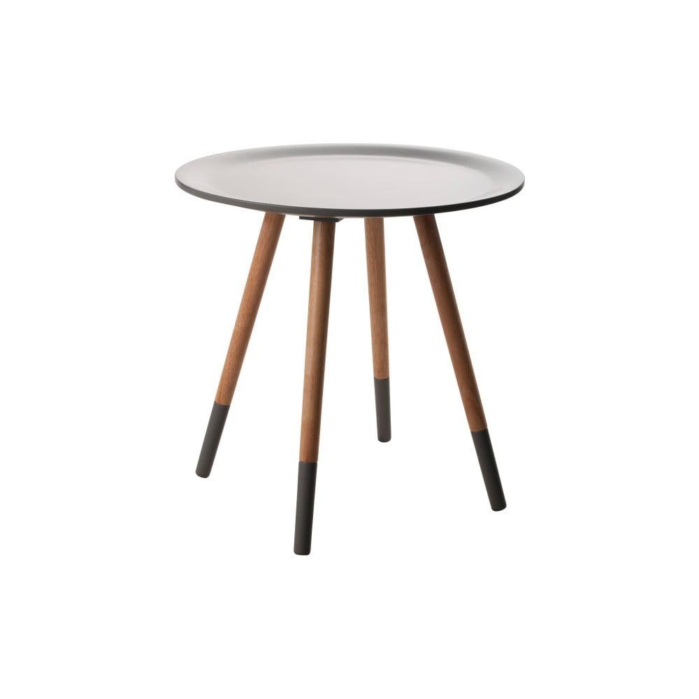 Černý odkládací stolek Zuiver Two Tone