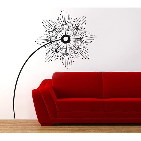 Samolepka Abstraktní květina, 70x50 cm