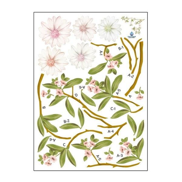 Set autocolante Ambiance Flowering Magnolia