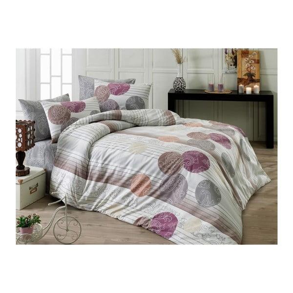 Lenjerie de pat cu cearșaf Camille, 200 x 220 cm