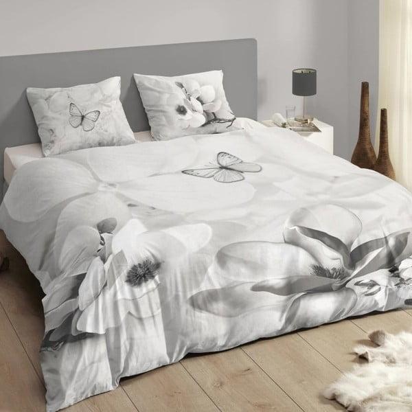 Povlečení Muller Textiel Descanso Xandrine Grey, 200x200cm