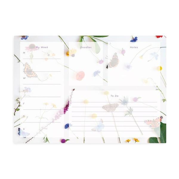 Planificator Ohh Deer Butterfly Meadow, 60 file