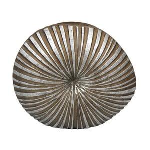 Světle hnědá váza Stardeco Shell, 44 cm