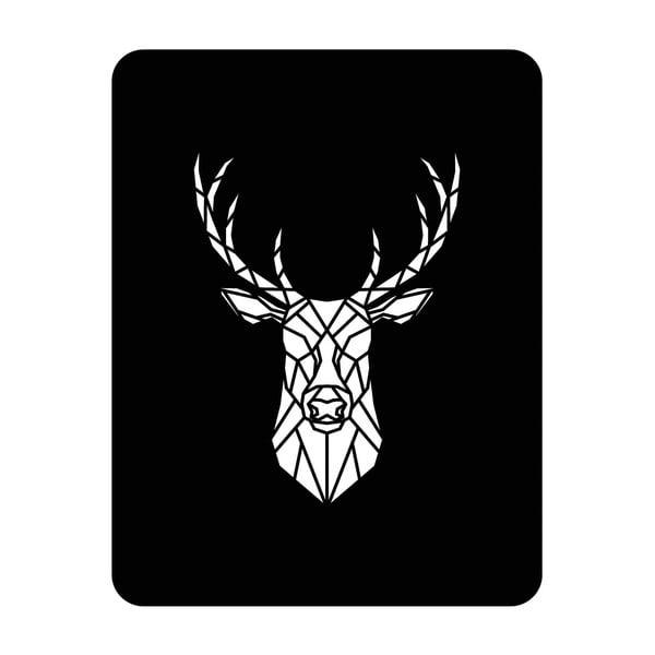 Ścienna dekoracja świetlna Deer, 67x82 cm